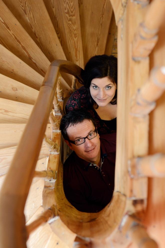 Caro und Thorsten Treppenhaus neu